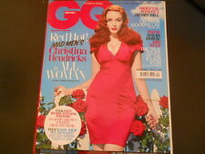 David Bowie, Christina Hendricks - GQ Magazine 2010