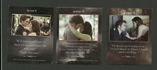 Bella Swan Edward Cullen Kristen Stewart Robert Pattinson Twilight Fab Card LOT
