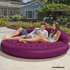 Lounge Outdoor Chair Garden Sofa Camping Room Fun Back Yard Pool Bed Back Rest N