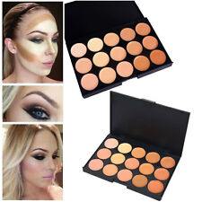 15 Colors Professional Salon Party Concealer Contour Face Cream Makeup Palette