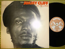 JIMMY CLIFF, I AM THE LIVING, LP 1980 RARE ORIGINAL BARBADOS VG/VG REGGAE