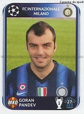 N°019 PANDEV # MACEDONIA INTER MILANO UEFA CHAMPIONS LEAGUE 2011 STICKER PANINI