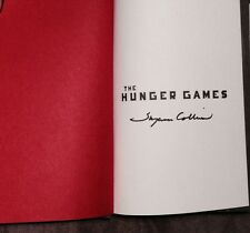 """SUZANNE COLLINS SIGNED AUTOGRAPH """"THE HUNGER GAMES"""" TRILOGY 3 BOOK DELUXE SET"""