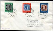 BUND 1949 113-115 FDC TADLLOSER ERSTTAGSBRIEF 200€(J7846