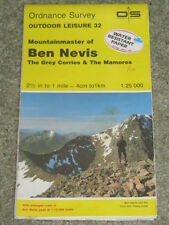 OS Ordnance Survey 1:25,000 Outdoor Leisure 32 - Mountainmaster of Ben Nevis