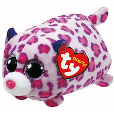 TY Beanie Boos - Teeny Tys Stackable Plush - OLIVIA the Leopard (4 inch) - MWMTs