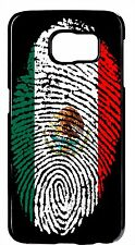 For Samsung Galaxy Note 4 Mexican Mexico Flag Finger Print New Back Cover Case