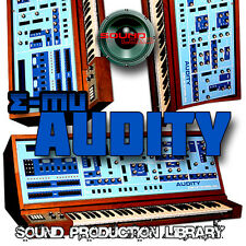 E-mu AUDITY REAL - Perfect Analog Original WAVE Studio Samples Library on DVD
