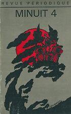 Minuit # 4 Revue Littérature 1973 Duvert Jaworski Melko Longuet Pinget Beckett