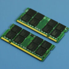 2GB 2G 2X1GB DDR2-667 PC2-5300 SO-DIMM 200-PIN NON-ECC RAM Laptop MEMORY SODIMM