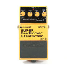 VTG Boss SUPER Feedbacker & Distortion DF-2 Pedal Electric Guitar Effect Pedal