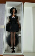 2002 Lingerie #5 African-American Silkstone Fashion Model Barbie #56120 NRFB
