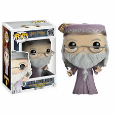 HARRY POTTER - FUNKO POP Figurine ALBUS DUMBLEDORE WITH WAND 9 cm