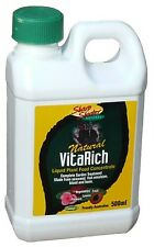 Vitarich Liquid Plant Food Concentarte 500ml Organic Fertiliser Vegetable Orchid