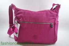 New With Tag Kipling ALENYA Shoulder CrossBody Hobo Bag HB6628 485 - Very Berry