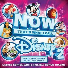 NOW THATS WHAT I CALL DISNEY 2 -VAR (CD) NEW MERMAID LION JUNGLE POPPINS SOUTH