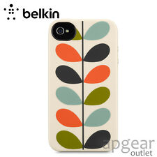 Genuino Belkin F8W356BTC00 color patrón de diseño Funda Iphone 4 4s