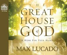 The Great House of God by Max Lucado (2003, CD, Abridged, Unabridged) NEW