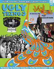UGLY THINGS Magazine #42 Yardbirds Weirdos Flamin' Groovies Garage Punk Psych,