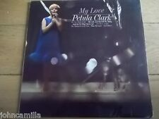 "PETULA CLARK - MY LOVE 12"" LP / RECORD - PYE RECORDS - NPL 18141"