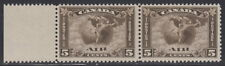 Canada #C2 5¢ Air Mail Pair Mint Never Hinged