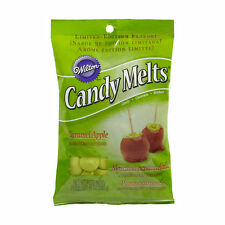 Caramel Apple Flavor Candy Melts Limited Edition from Wilton 228 - NEW