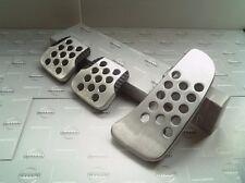 JDM OEM PEDAL PAD Aluminum NISSAN SILVIA S15 240SX Cover MT MANUAL 3PCS JAPAN