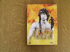 STALLONE RAMBO TRILOGY