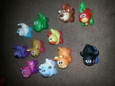2009 HASBRO PLAYSKOOL WHEEL PALS ANIMALS LOT OF 11 FOR ONE PRICE