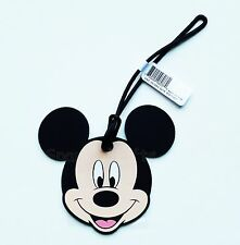 Disney - Mickey Mouse - Mickey Head/face Soft Touch Luggage Tag