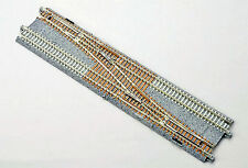 Kato 20231 N Gauge Unitrack Double Track #4 Single Crossover Turnout, Right. New
