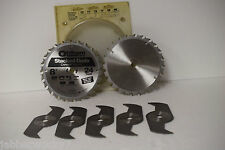 "Oldham 800-5224 Stacked Dado Blades 8"" - 24 Tooth Carbide Tipped"
