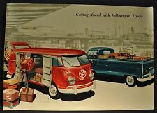 1960 Volkswagen Trucks Catalog Brochure Pickup Van Excellent Original 60 VW