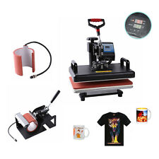 "2in1 15"" x15"" CLAMSHELL HEAT PRESS T-SHIRT Digital TRANSFER SUBLIMATION MACHINE"