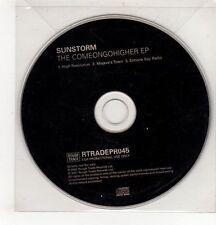 (GH542) Sunstorm, The Comeongohigher E.P. - 2002 DJ CD