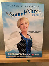 "The Sound of Music LIVE Carrie Underwood 5"" x 7"" Promo Card"