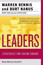 Leaders: Strategies for Taking Charge (Collins Business Essentials), Warren G. B