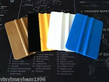 Felt Wrapped 3M Gold Blue Avery squeegee vinyl applicators stickers graphics