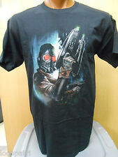 Mens Licensed Marvel Guardians of the Galaxy Starlord Shirt New L
