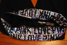 Victoria's Secret VS PINK Holographic Bling Sequin Skinny Yoga Pants (Small)