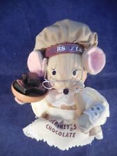 STRAW HERSEY'S CHOCOLATE CHEF ORNAMENT FROM PLANT IN PA. 4 1/2""