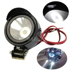 Hot Universal Electric Motorcycle Lamp LED Fog Spot White Light Headlight 12V