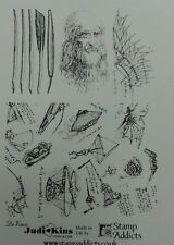 Unmounted Rubber Stamps DaVinci by Judikins