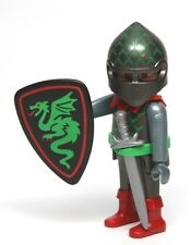 Playmobil Figure Castle Dragon Temple Knight Soldier Helmet Shield Sword 3841