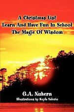 A Christmas List  p Learn And Have Fun In School  p  The Magic Of Wisdom
