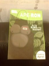 NOKI APE RON BOXED COOKING APRON NOW YOU CAN BE KING OF THE KITCHEN