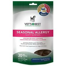 Vet's Best Skin-Related Concerns Associated with Seasonal Allergy Dog Soft Chews