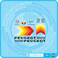 PEUGEOT bicyclette Stickers Autocollants Transferts - - - Lot 7