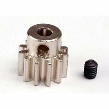 TRAXXAS Gear, 12-t Pignone (32P) (MACH. ACCIAIO) / Set Screw z-trx3942