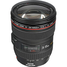 New Canon EF 24-105mm f/4L IS USM Lens - White Box